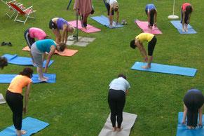 Vinyasa Flow Yoga im Reschnerhof