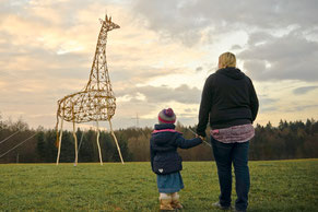 David Klopp | Giraffe | Land Art