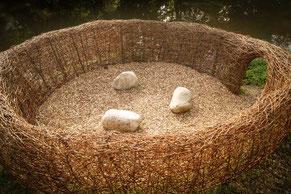 David Klopp | Land Art | Gänsenest | Remstal Gartenschau | Remseck am Neckar