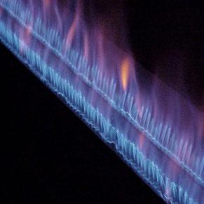 Gas-Langrohrbrenner