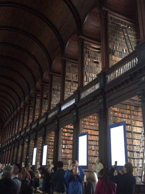 Das Trinity College in Dublin ist weltberühmt. Die Universität ist durch Oscar Wilde bekannt.