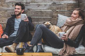Beziehung, Chance, Stress, Zeit, Freude, Gelassenheit, Harmonie