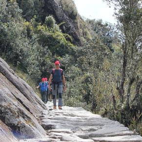 Inka Pfad Wanderung