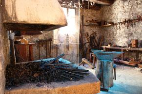 la salle du fer au musée du Quercorb