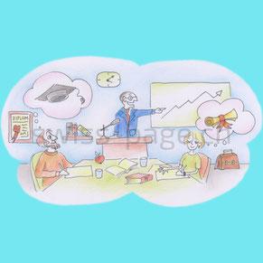 Beispiel kreative Webseite Unterricht