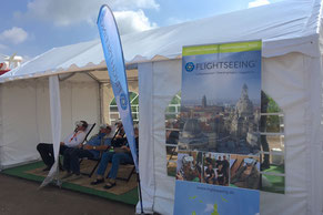 Flightseeing Event Highlight Drohne Windpark VR-Brille