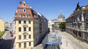 Immobilien Baufortschritt Luftaufnahmen Dresden USD