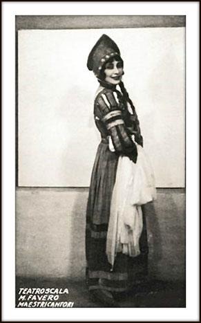 Soprano Mafalda Favero