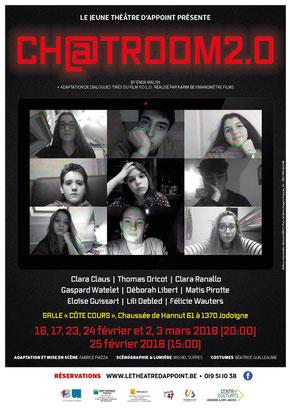 Ch@tromm2.0, spectacle Jeune Théâtre d'Appoint 2018, Fabrice Piazza