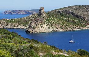 Paraíso de islas Cabrera Son Amoixa Vell