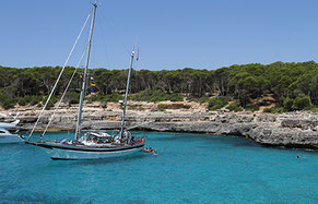 Sailing in Majorca Son Amoixa Vell