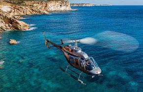 Helikopter-Rundflug auf Mallorca Son Amoixa Vell