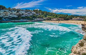 Strände auf Mallorca Son Amoixa Vell