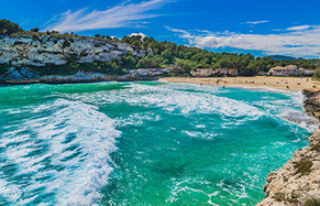 Beaches in Majorca Son Amoixa Vell