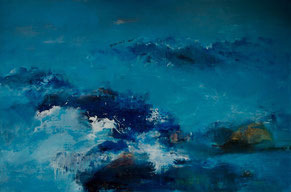 浪屿1 LAND 1 100X150CM 布面油画 OIL ON CANVAS 2007 (收藏于台湾 COLLECTED IN TAIWAN)
