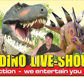 Dinosaurier der Dino Live-Show