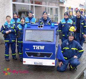 Jugendgruppe des THW Pfungstadt