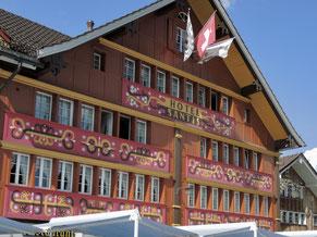 Fassade Hotel Säntis, Appenzell