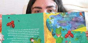 Visuel pub de l'article de la trilogie Zip le lutin aux Editions Benjulice sur la radio RCF