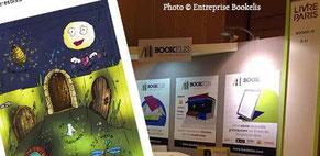 Visuel pub de l'article du Salon du Livre de Paris 2016 avec Fany Vereecken et Bookelis