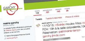 Exemple d'une formation réseaux sociaux réussie par Cloé Perrotin pour la Mairie et Commune de Garchy