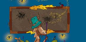 Vignette-lien vers la fiche produit du livre Le dragon qui créa le pop-corn sur la e-boutique Illustr'&Vous