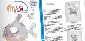 """Détail du Webzine """"iMAGine : passerelle pour l'édition jeunesse"""" co-dirigé en collectif par Cloé Perrotin"""