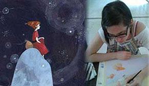 Vignette de l'interview de l'article de l'illustratrice Éléonora De Pieri pour l'atelier Illustr'&Vous de Cloé Perrotin