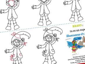 Image d'aperçu du tutoriel pour apprendre à dessiner un lutin