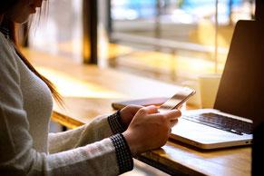 電話イメージ カフェ
