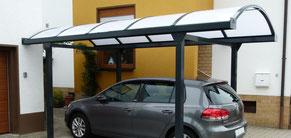 Carports für Caravan, Transporter, SUV - Carportfabrik.de