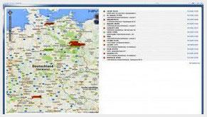 OSCweb, browserbasiertes Portal zur GPS-Ortung