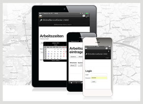 Mobile Zeiterfassung mit Handy / Smartphone / iPhone