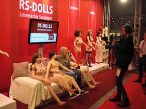 Großes Presse-Echo von der Venus Berlin 2016 für RS-Dolls Silikonpuppen