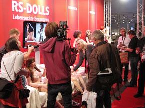 Bild, N24, RBB, Berliner Morgenpost, ... berichten über lebensechte Liebespuppen der neuen Generation von RS-Dolls