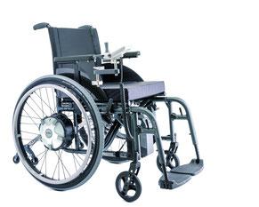 Rollstühle mit Zusatz Akku