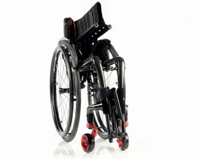 Rollstühle im Fachgeschäft testen
