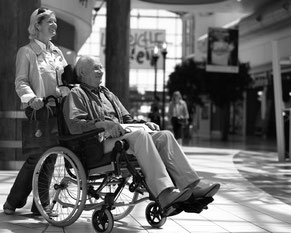 Multifunktion Rollstuhl