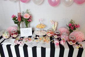 Candy Bar selber machen Hochzeit Geburtstag