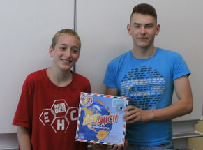 Spielend Russisch lernen 2014 - das Siegerteam Christian Schmidt und Waldemar Leis