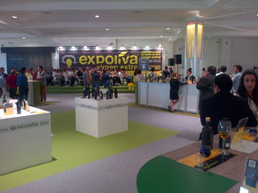 "Sala de catas aceite de oliva virgen extra ""Expoliva 2013"""