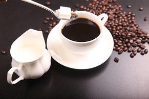 Kaffee Zubehör Zucker rahm Milch Tassen espresso