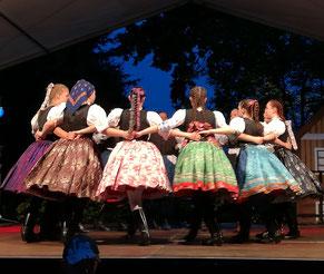 Folklorefestival Lausitz zu Gast in Drachhausen