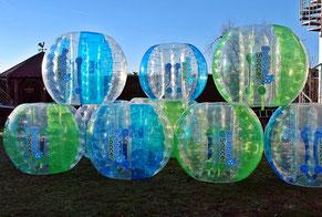 Bubble Soccer Fußballturnier in Frankfurt Bumper Ball Turnier Offenbach Torwand mieten Hessen
