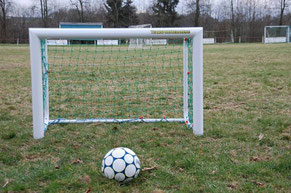 Fussball Tor mieten Kindergeburtstag Frankfurt feiern Eventmodule Verleih Torwand Hessen Fussballmodule