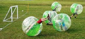 Bubble Football mieten in Frankfurt Eventmodule Verleih Hessen Bubble Ball Bumper Fußball Sooccer günstig mieten Rhein Main Gebiet