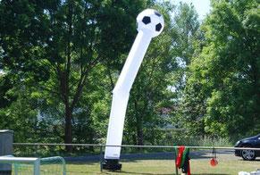 Skydancer mieten Fussball Eventmodule Verleih Eventidee Frankfurt Hessen Torwand Billiard Tischkicker