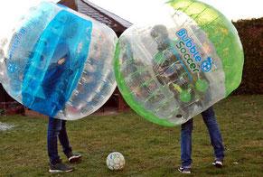 Bubble Football mieten in Frankfurt Eventmodule Verleih Hessen Bubble Ball Bumper Fußball Sooccer Rhein Main Gebiet