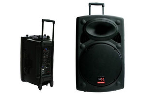 Mobile Soundanlage Musikanlage Karaoke Boxen mieten DJ Frankfurt Eventmodule Verleih Soundsystem