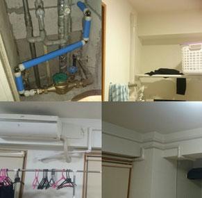 分譲マンションで給水管の水漏れ・給湯管の水漏れ、急に水道代が上がった、壁の中で水の音がする、天井から水が漏れてきたなど、給水管・給湯管工事のことは、口コミ・評判のいい水道屋【水道便利屋さん】まで、お問い合わせください!安心の低価格・無料見積もり・確実な施工を心がけて営業しております。